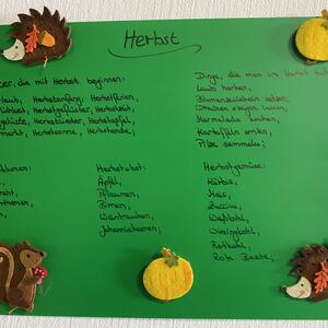 """Thementag """"Herbst"""", 25.09.20"""