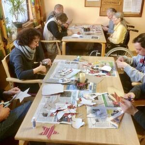 """Kreatives Gestalten """"Papiersterne"""", 24.11.20 bis zum 26.11.20"""