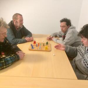 Kleine Mensch-ärgere-Dich-nicht-Runde, 25.03.2021